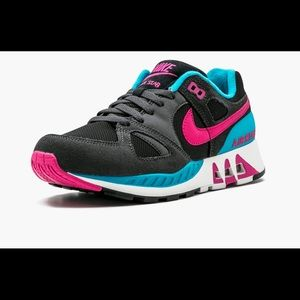 Nike Air Stab Hot Pink Blue Lagoon Mens